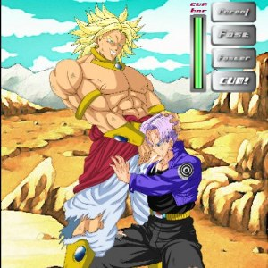 Guanino Dragon Ball Z Broly vs Trunks