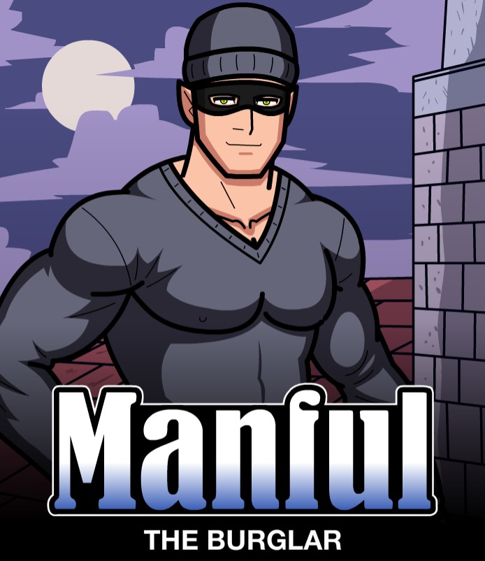 Humbuged Manful The Burglar