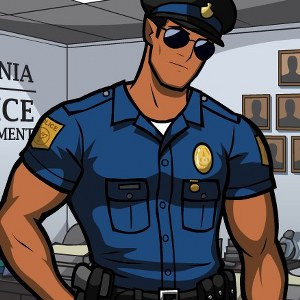 Manful The Police Officer