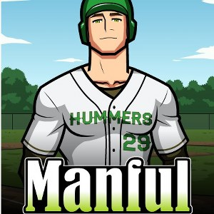 Manful The Baseball Player