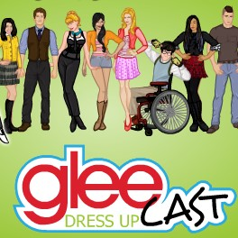 Glee Cast Dress Up