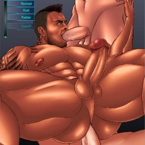 Mass Effect James Vega Threesome